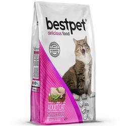 Bestpet - Bestpet Selection Chicken Tavuk Etli Yetişkin Kedi Maması 400 Gr