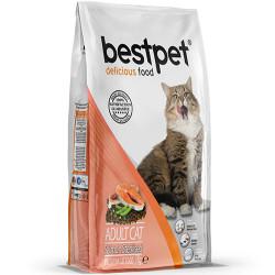 Bestpet - Bestpet Sterilised Somonlu Kısırlaştırılmış Kedi Maması 1 Kg