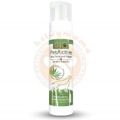 Bio Pet Active Aloe Vera Özlü Kuru Yıkama Şampuanı 200 ML