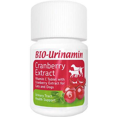 Bio Pet Active Bio - Urinamin Kedi ve Köpek İdrar Yolu Sağlığı Tablet (40 Tablet)