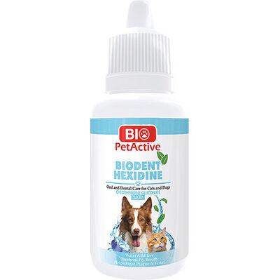 Bio Pet Active Biodent Hexidine Kedi ve Köpek Ağız / Diş Bakımı 50 ML