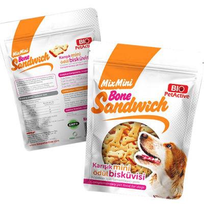 Bio Pet Active Bone Sandwich Karışık Mini Ödül Bisküvisi 200 Gr