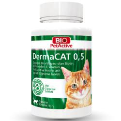 Bio Pet Active - Bio Pet Active 0,5 Dermacat Brewers Yeast Kedi Tüy Bakımı 75 Gr (150 Tablet)