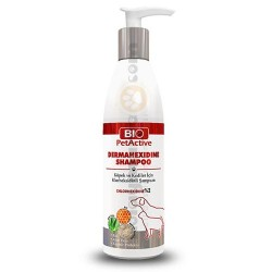 Bio Pet Active - Bio Pet Active Dermahexidine Köpek ve Kedi Antiseptik Şampuan 250 ML