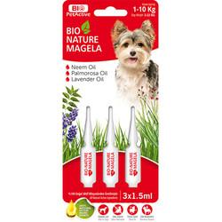 Bio Pet Active - Bio Pet Active Dog 1 - 10 Kg Deri ve Tüy Sağlığı Köpek Çözelti 3 x 1,5 ML
