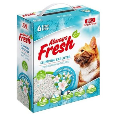 Bio Pet Active Fresh Scented Ferah Kokulu Topaklanan Kedi Kumu 6 Lt