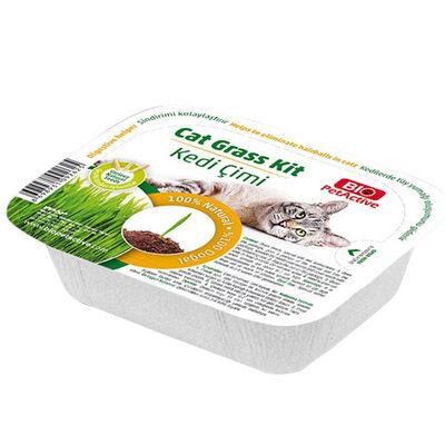Bio Pet Active Grass Kit Naturel Kedi Çimi