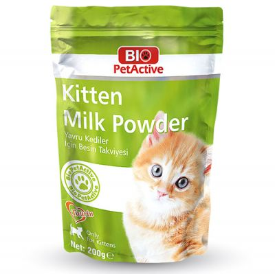 Bio Pet Active Kitten Milk Yavru Kedi Süt Tozu 200 Gr