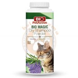 Bio Pet Active - Bio Pet Active Lavanta ve Biberiye Özlü Kuru Kedi Şampuanı 150 Gr