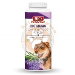 Bio Pet Active - Bio Pet Active Lavanta ve Biberiye Özlü Kuru Köpek Şampuanı 150 Gr