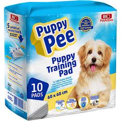 Bio Pet Active - Bio Pet Active Puppy Pee Tuvalet Eğitim Çişi Pedi 60x60 Cm (10 Adet)