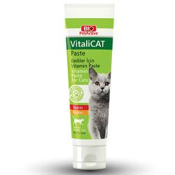 Bio Pet Active - Bio Pet Active VitaliCat Pasta Taurin ve Biotinli Kedi Ödülü 100 ML
