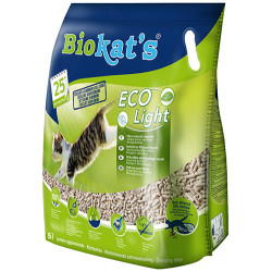 Biokats - Biokats Eco Light Pelet Naturel Kedi Kumu 5 Lt