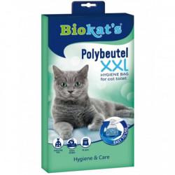 Biokats - Biokats Polybeutel Kedi Kumu Hijyen Torbası XXL (12li Paket)