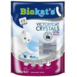 Biokats - Biokats Victory Cat Crystals Extra Classic Silica Kedi Kumu 3.6 Kg - 8.2 Lt
