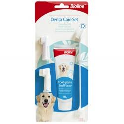 Bioline - Bioline Köpekler İçin Ağız ve Diş Bakım Seti