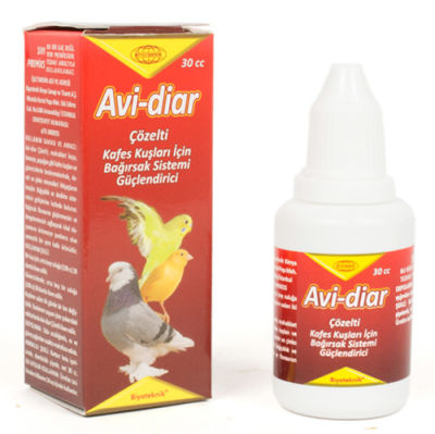 Biyoteknik Avi - Diar Kafes Kuşu Bağırsak Güçlendirici 30 ML
