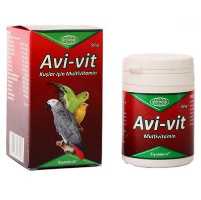 Biyoteknik Avi - Vit Kuşlar İçin Multivitamin 50 Gr