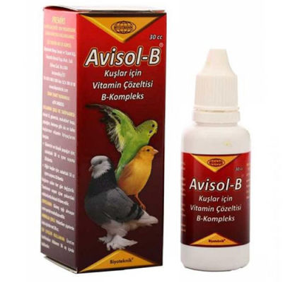 Biyoteknik Avisol - B Kompleks Kuş Vitamini 30 ML