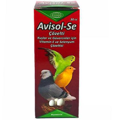 Biyoteknik Avisol - Se Kuş ve Güvercin Vitamin Çözeltisi 30 ML