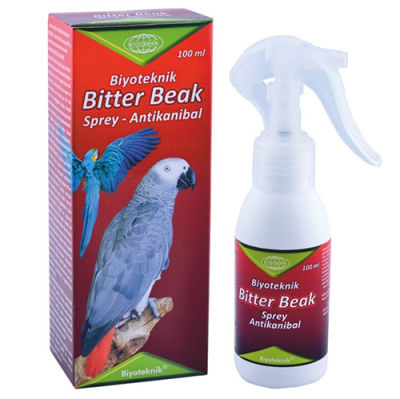 Biyoteknik Bitter Beak Antikanibal Kuş Spreyi 100 ML