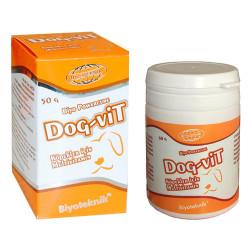 Biyoteknik - Biyoteknik Powercure Dog-Vit Köpekler için Multivitamin Toz 50 Gr