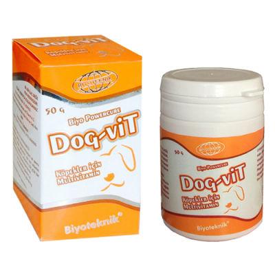 Biyoteknik Powercure Dog-Vit Köpekler için Multivitamin Toz 50 Gr
