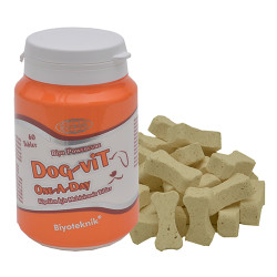 Biyoteknik - Biyoteknik Powercure Dog-Vit One A Day Köpekler için Multivitamin 60 Tablet
