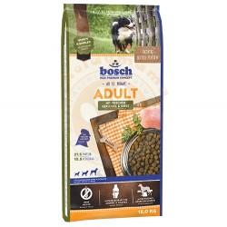 Bosch - Bosch Poultry Kümes Hayvanı Köpek Maması 15 Kg+10 Adet Temizlik Mendili
