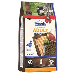 Bosch - Bosch Duck Glutensiz Ördek ve Pirinçli Köpek Maması 15 Kg + 10 Adet Temizlik Mendili