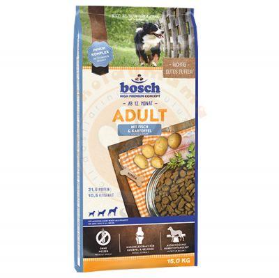 Bosch Fish Glutensiz Balık ve Patatesli Köpek Maması 15 Kg + 10 Adet Temizlik Mendili