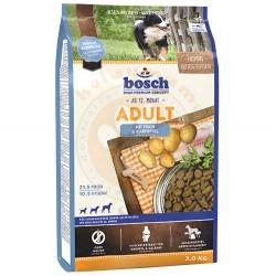 Bosch - Bosch Fish Glutensiz Balık ve Patatesli Köpek Maması 3 Kg+5 Adet Temizlik Mendili