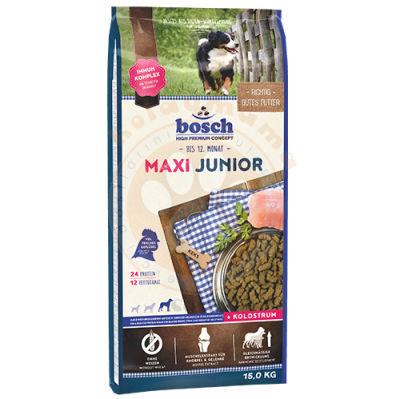 Bosch Junior Maxi Glutensiz Büyük Irk Yavru Köpek Maması 15 Kg + 10 Adet Temizlik Mendili