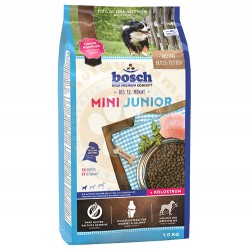 Bosch - Bosch Mini Junior Glutensiz Küçük Irk Yavru Köpek Maması 1 Kg