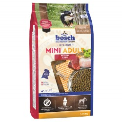 Bosch - Bosch Mini Lamb Glutensiz Kuzu Etli Küçük Irk Köpek Maması 1 Kg