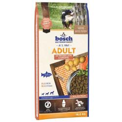 Bosch - Bosch Salmon Glutensiz Somonlu Köpek Maması 15 Kg+10 Adet Temizlik Mendili