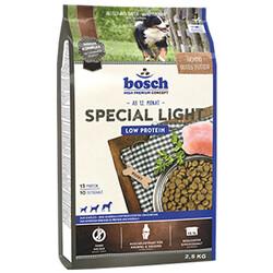 Bosch - Bosch Special Light Diyet Düşük Kalori Köpek Maması 2,5 Kg + 5 Adet Temizlik Mendili