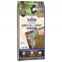 Bosch - Bosch Special Light Glutensiz Düşük Kalorili Köpek Maması 12,5 Kg + 10 Adet Temizlik Mendili