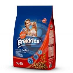 Brekkies - Brekkies Excel Biftekli Yetişkin Köpek Maması 4 Kg+5 Adet Temizlik Mendili