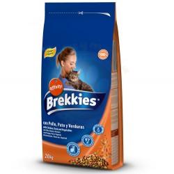 Brekkies - Brekkies Excel Cat Mix Tavuk Etli Kedi Maması 20 Kg + 5 Adet Temizlik Mendili