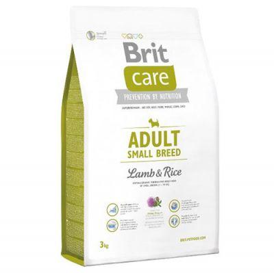 Brit Care Adult Small Küçük Irk Kuzulu Köpek Maması 3 Kg+5 Adet Temizlik Mendili