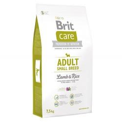 Brit Care - Brit Care Adult Small Küçük Irk Kuzulu Köpek Maması 7,5 Kg + 10 Adet Temizlik Mendili
