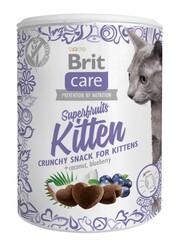 Brit Care - Brit Care Cat Snack Superfruits Kitten Tahılsız Yavru Kedi Ödülü 100 Gr