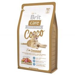 Brit Care - Brit Care Cocco Ördekli Tahılsız Kedi Maması 7 Kg+10 Adet Temizlik Mendili