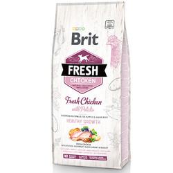 Brit Care - Brit Care Fresh Puppy Tavuk ve Patatesli Yavru Köpek Maması 12 Kg+10 Adet Temizlik Mendili