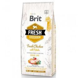 Brit Care - Brit Care Fresh Tavuk ve Patatesli Köpek Maması 12 Kg+10 Adet Temizlik Mendili