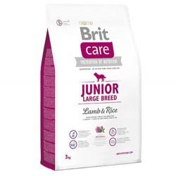 Brit Care - Brit Care Junior Large Yavru Büyük Irk Köpek Maması 3 Kg+5 Adet Temizlik Mendili