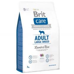 Brit Care - Brit Care Large Breed Büyük Irk Kuzu Köpek Maması 3 Kg + 5 Adet Temizlik Mendili