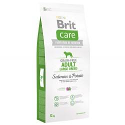 Brit Care - Brit Care Large Breed Somonlu Büyük Irk Tahılsız Köpek Maması 12 Kg