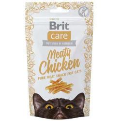 Brit Care - Brit Care Meaty Chicken Tahılsız STavuk Etli Kedi Ödülü 50 Gr